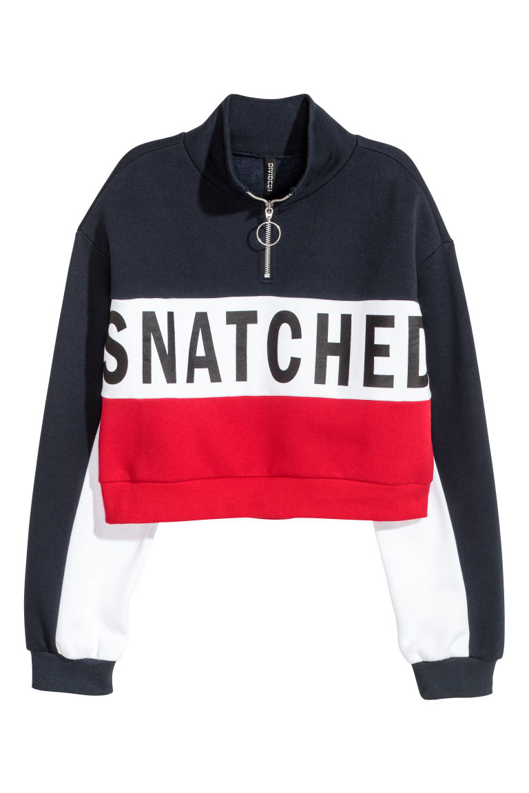 save off 93700 9a75c Kurzes Sweatshirt