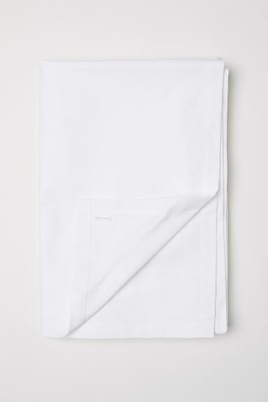 Cotton tablecloth - White - Home All | H&M CN