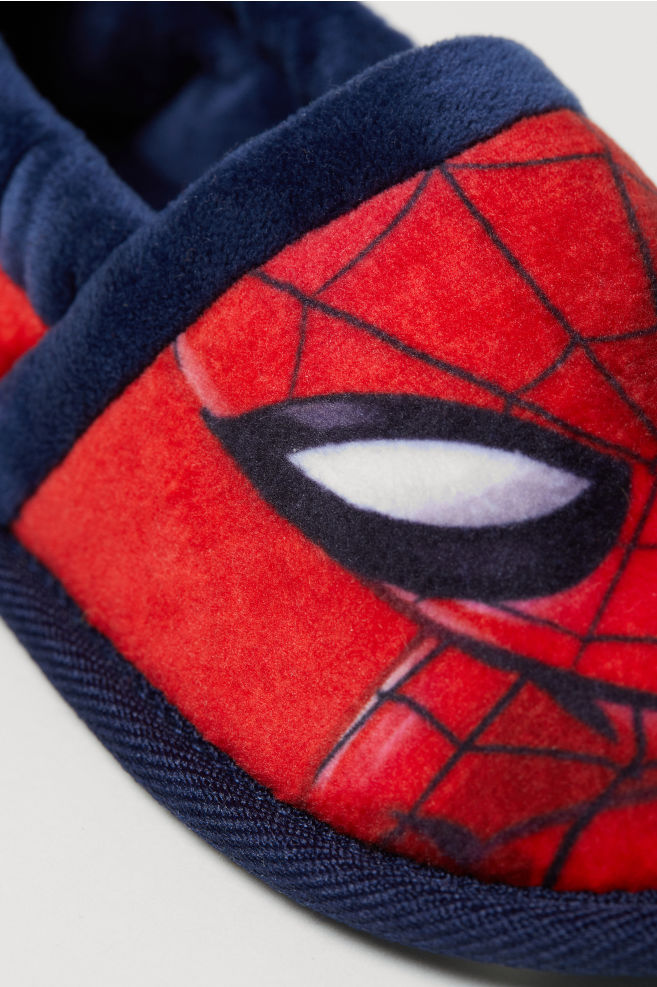95d8a30ed27 ... Soft Slippers - Red Spider-Man - Kids