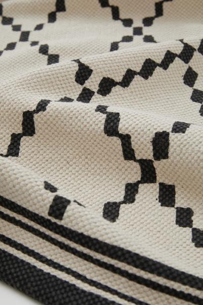 H&M - Alfombra de algodón estampada - 2