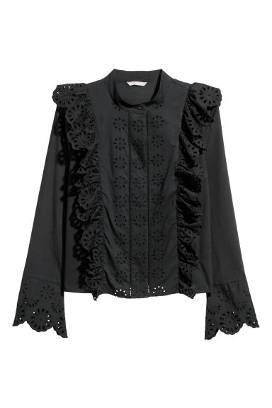 H&M+ Blouse - Black - Ladies | H&M