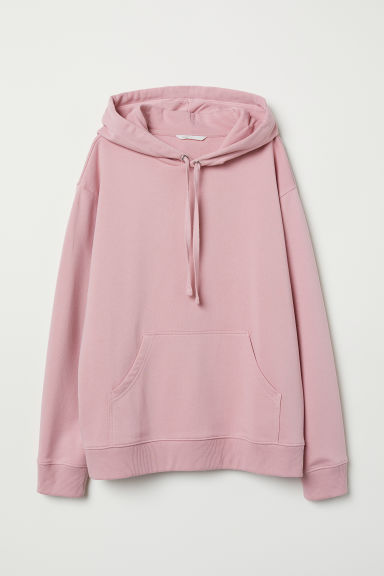 Hooded top - Old rose - Ladies | H&M