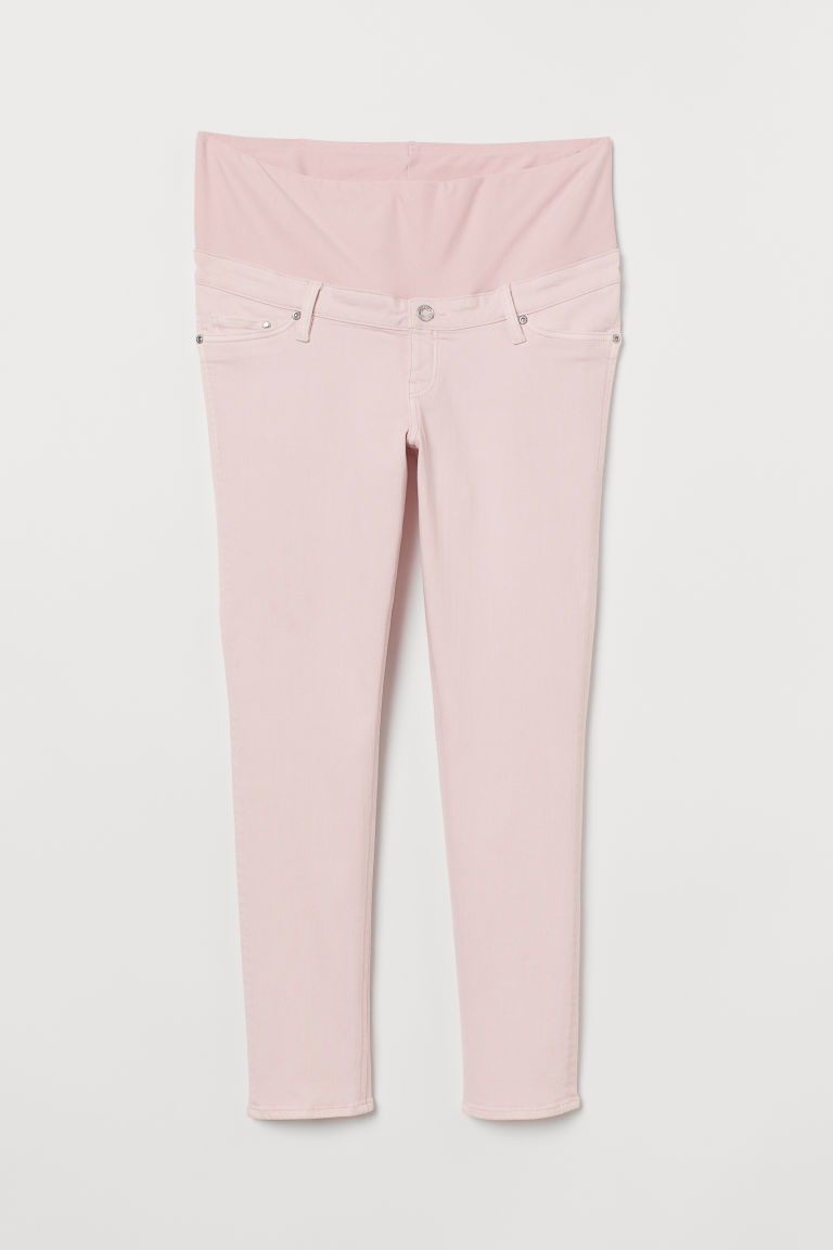 MAMA Ankle-length trousers - Light pink - Ladies | H&M