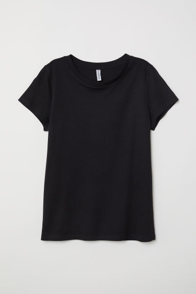 T-shirt - Black -  | H&M CN
