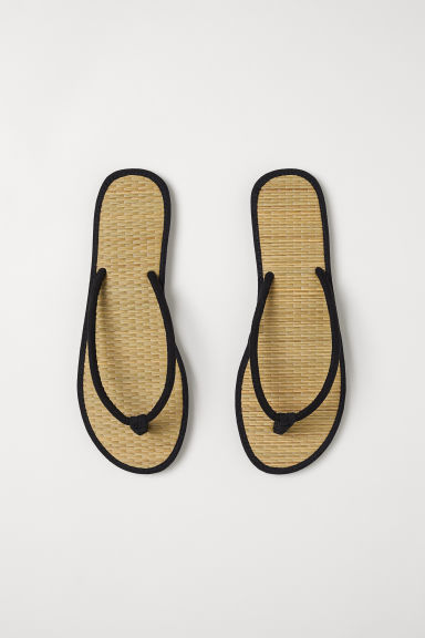 Flip-flops - Black - Ladies | H&M CN