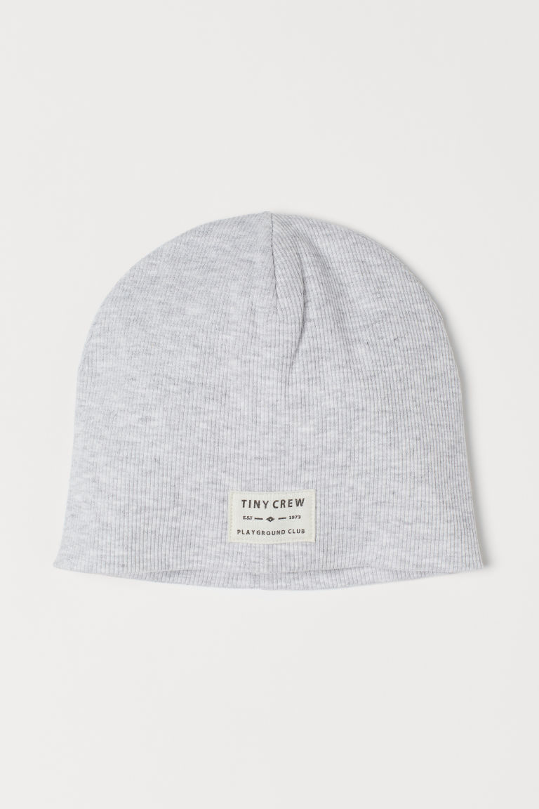 Ribbed Cotton Hat by H&M