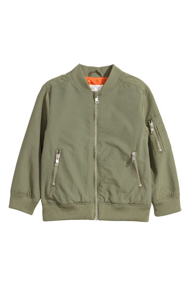 Bomber jacket - Green -  | H&M CN