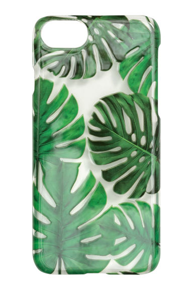 iPhone 6/6s-cover - Transparent/Monstera - DAME | H&M DK