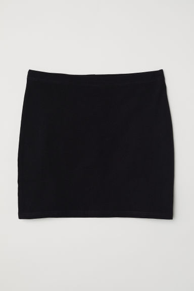 Jersey skirt - Black - Ladies | H&M