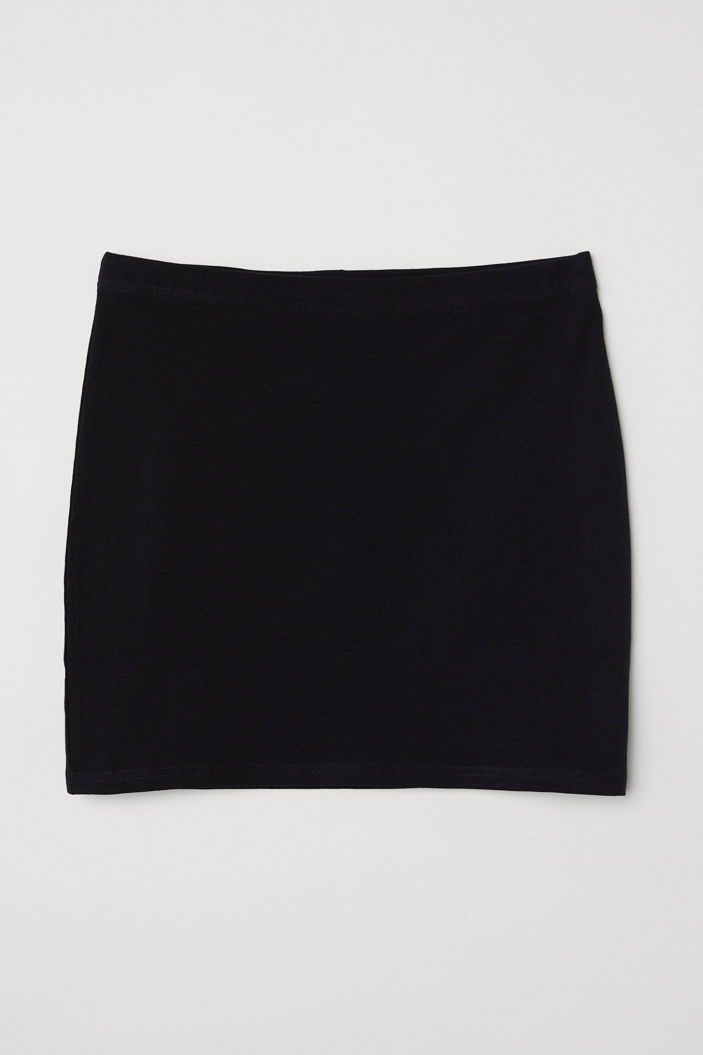 2b1dd5db2 Jersey Skirt - Black - | H&M US