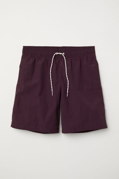 Short de bain long - Bordeaux - HOMME | H&M FR