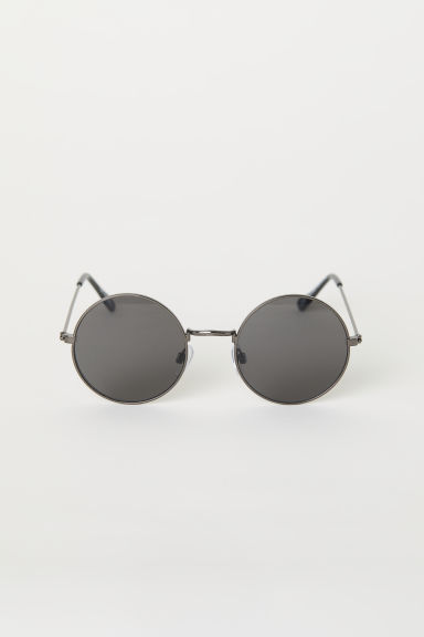 Round sunglasses - Black - Ladies | H&M CN