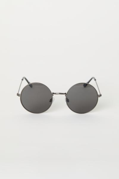 1fae44881db7f0 Ronde zonnebril - Zwart - DAMES