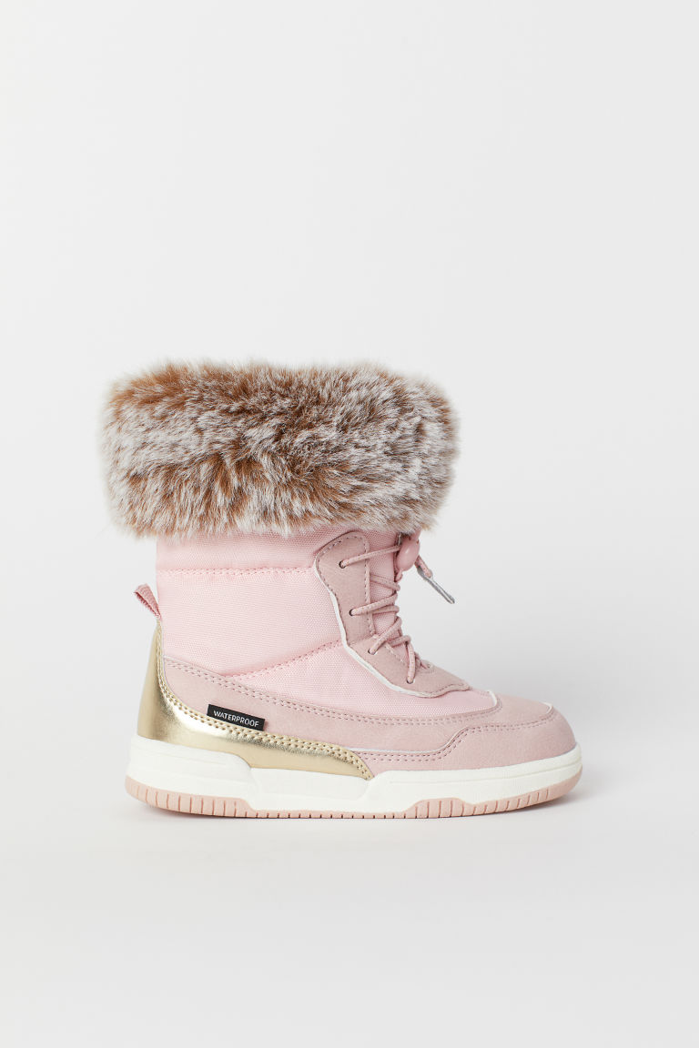 Waterproof boots - Light pink - Kids | H&M CN