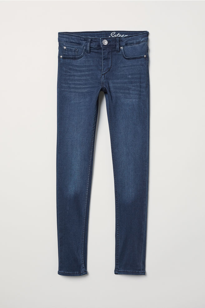 f1862eab01fe6 Skinny Fit Jeans - Dark blue - Kids