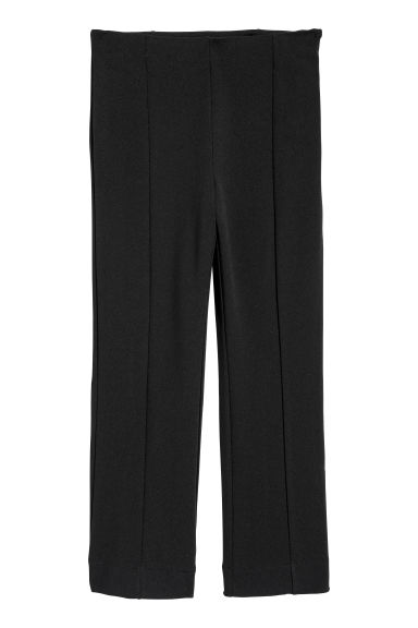 Ankle-length trousers - Black - Ladies | H&M IE