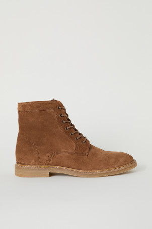 Suede bootsModal