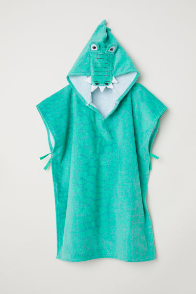 Accappatoio a poncho - Verde -  | H&M IT