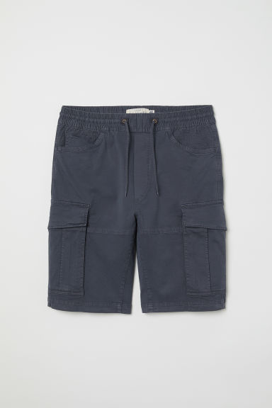 Cargo shorts - Dark grey-blue - Men | H&M