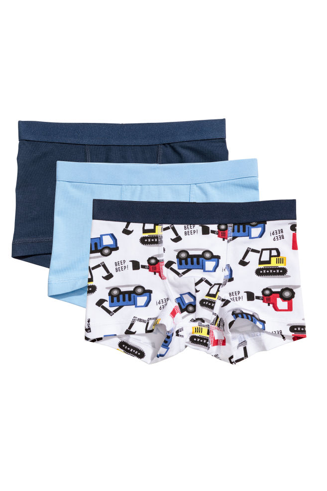 035c25e13 3-pack Boxer Shorts - White/diggers - Kids | H&M ...
