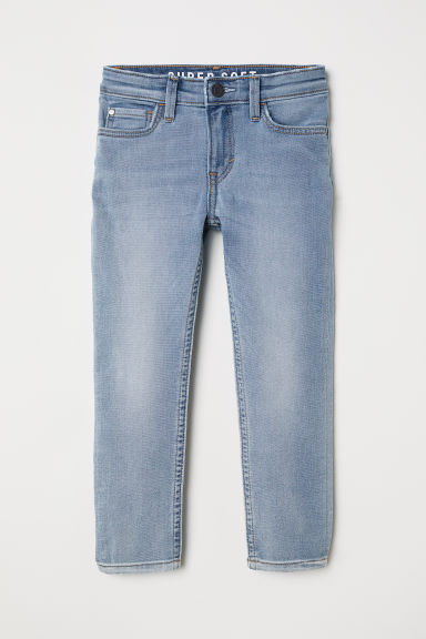 Super Soft Skinny Fit Jeans - Light denim blue -  | H&M CN