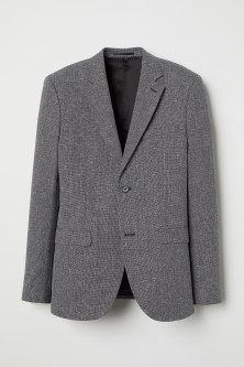 Blazer in misto lana Slim fit