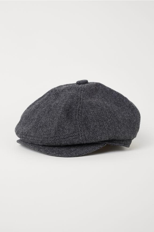 3d3248f951f38 Flat cap - Black marl - Men