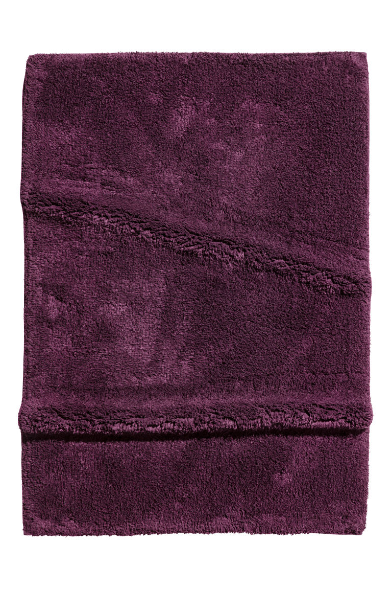 Bath mat - Purple - Home All | H&M GB