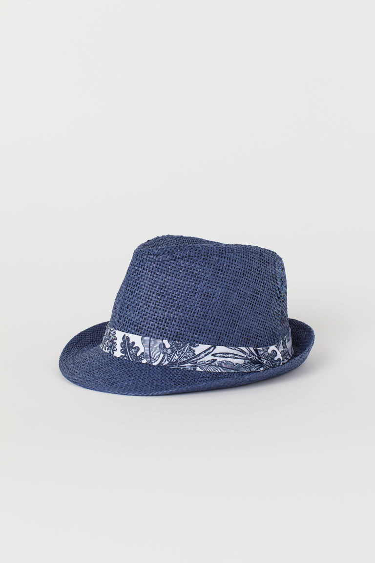 Straw hat - Blue - Kids | H&M