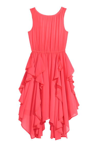 Flounced dress - Coral pink - Kids | H&M