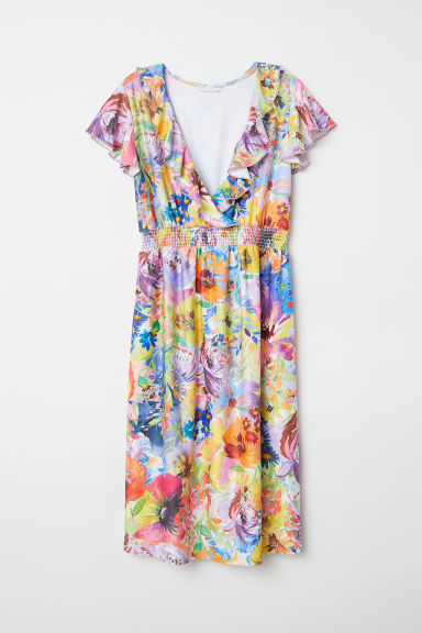 MAMA Dress - Multicoloured/Floral - Ladies | H&M