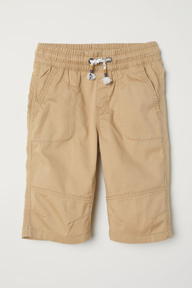 Cotton shorts - Beige - Kids | H&M