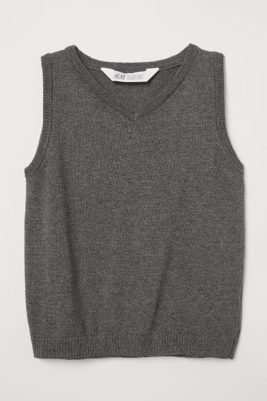 Slipover - Dark grey - Kids | H&M CN