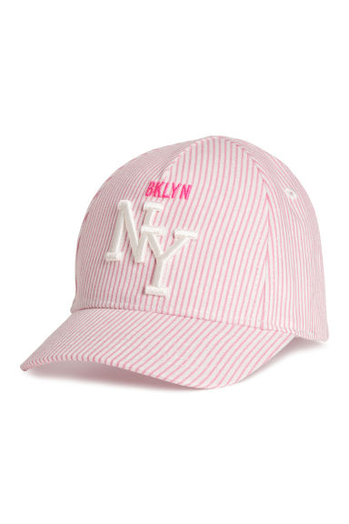 Cotton cap - Pink -  | H&M CN
