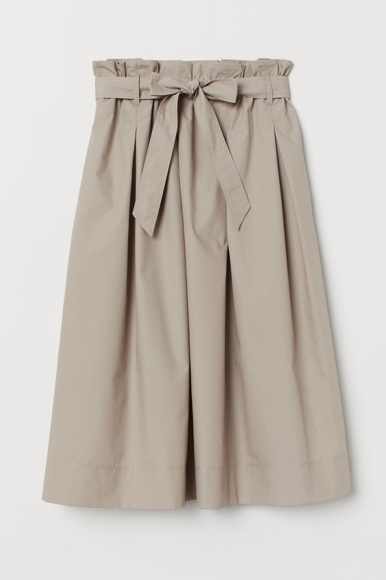 Calf-length skirt - Light mole - Ladies | H&M CN
