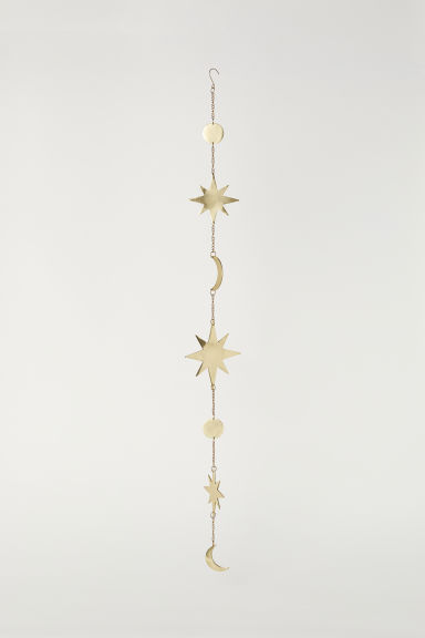 Metal garland - Gold-coloured - Home All | H&M CN