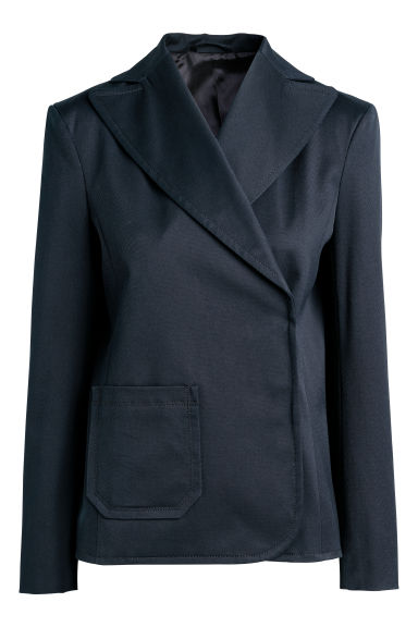 Twill jacket - Dark blue - Ladies | H&M