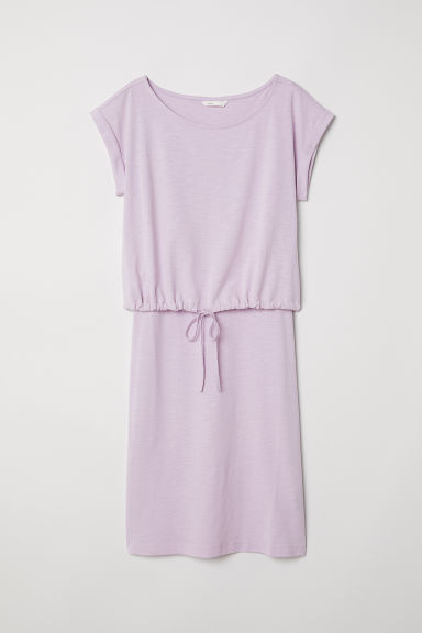 MAMA Nursing dress - Light purple -  | H&M