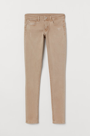 Push up Jegging Low Waist