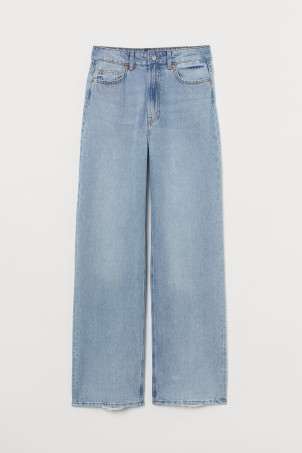 Wide High JeansModell