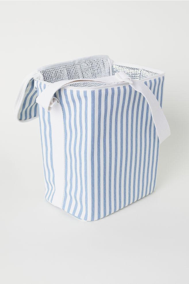 Glacière rayée - Écru/bleu/rayé - Home All | H&M FR 2