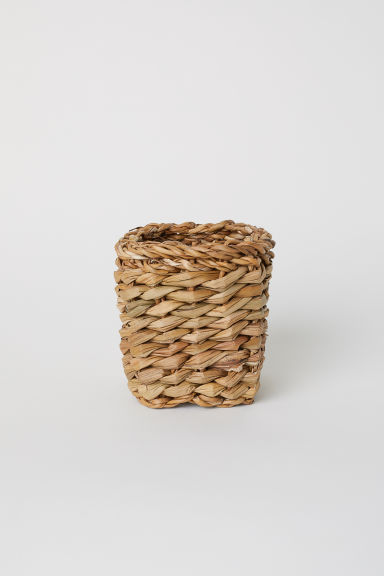 Small seagrass basket - Natural - Home All | H&M CN