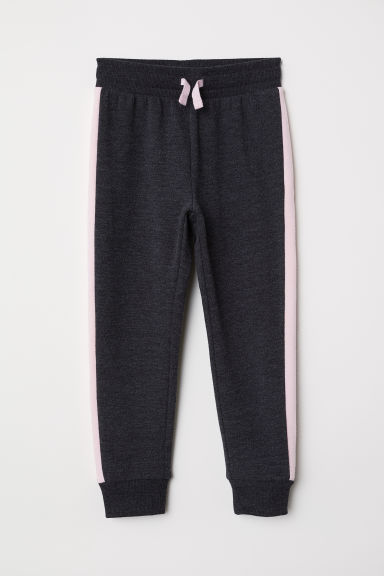 Joggers - Dark grey marl - Kids | H&M CN
