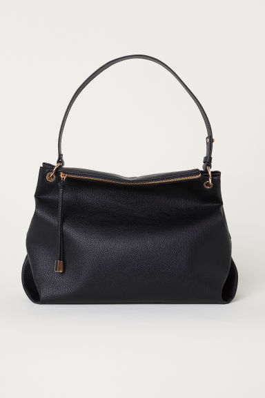 Borsa modello hobo - Nero - DONNA | H&M IT