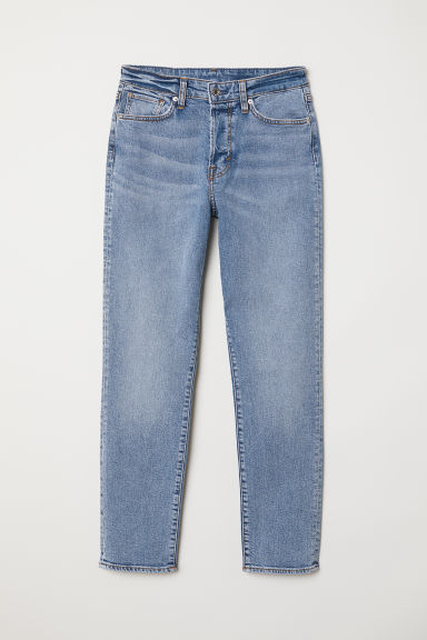 Mom Jeans - Light denim blue -  | H&M
