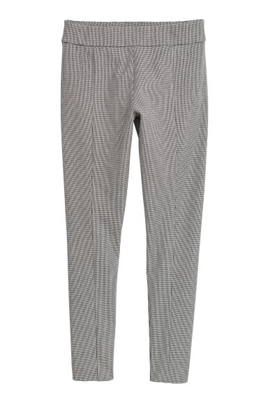 Treggings - White/Black checked -  | H&M GB