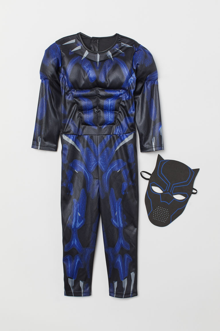 Superhero Costume - Black/black panther - Kids | H&M US