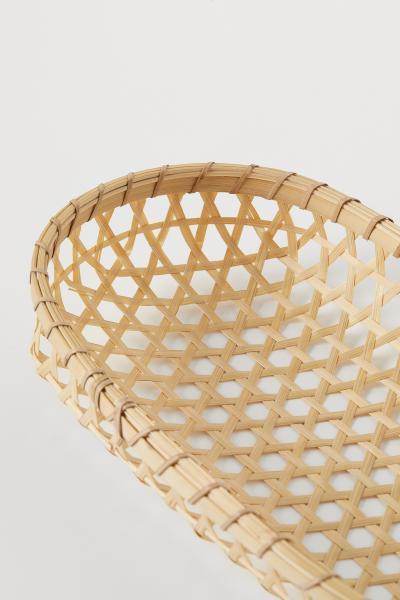 H&M - Cesta de pan de bambú - 3