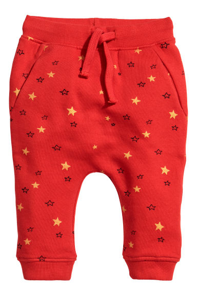 Joggers - Bright red - Kids | H&M CN