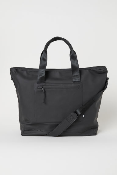 Rubber shoulder bag - Black - Men | H&M